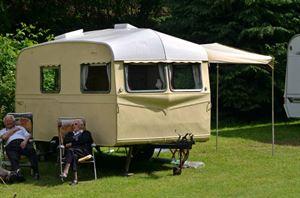 Classic vintage caravan