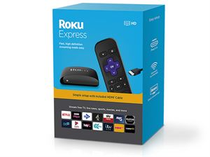Roku Express streaming device