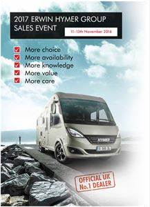 Say hello to 2017 Hymer Group motorhomes