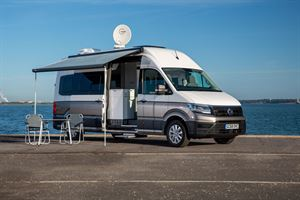 The VW Grand California 680 campervan