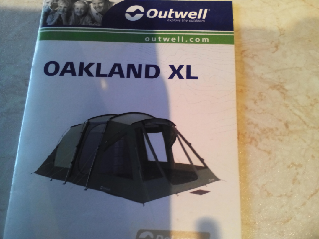 Outwell DeLuxe Oakland XL