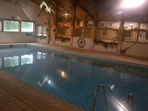 On site swimming pool is part of impressive leisure complex