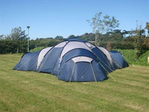 There's plenty of room for large family tents