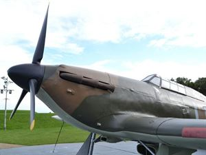 Battle of Britain Memorial is close by
