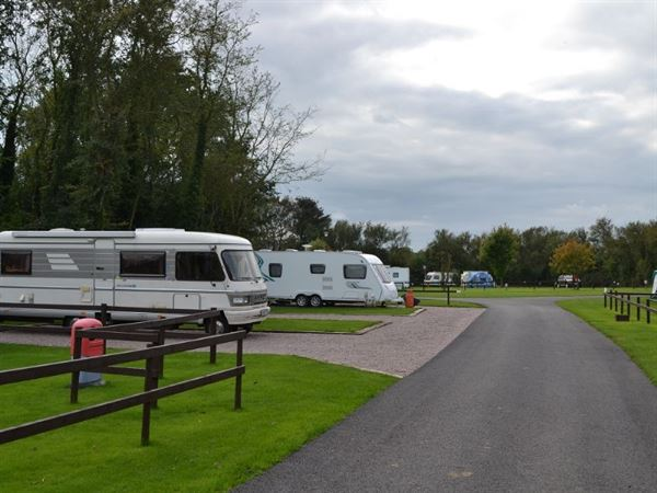 Site can accommodate all types of tourers