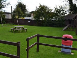 Dedicated picnic area for visitors