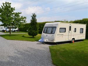 Hardstanding pitches offer easy access