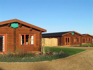 New luxury lodges are another accommodation option