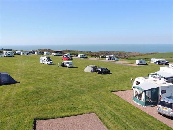 Damage Barton accepts motorhomes, caravans and tents