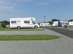 Sand le Mere's touring pitches are hardstanding and immaculate