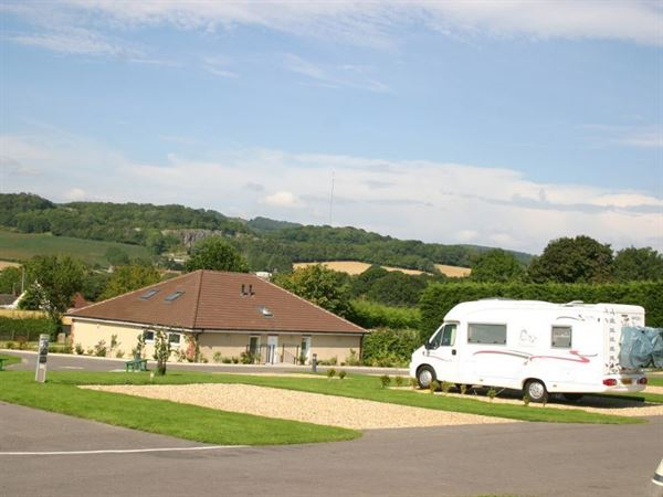 Wells Holiday Park is an immaculate campsite, ideal for motorhomes