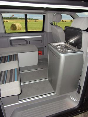 Add a kitchen pod to your campervan - Motorhome News