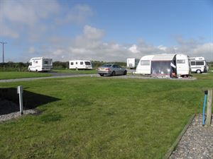 The campsite has full facilities including hook-ups