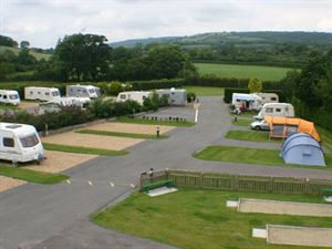 Pitches are spacious and the campsite is well laid out