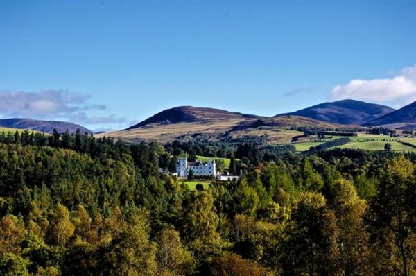 Wonderful highland scenery at Blair Castle