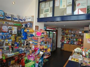 The on-site shop sells the basics whilst Barmouth town has a wider selection of shops