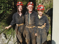 Adventure caving at Cheddar Gorge
