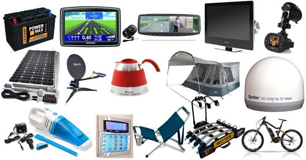 Essential accessories for your motorhome - Advice & Tips