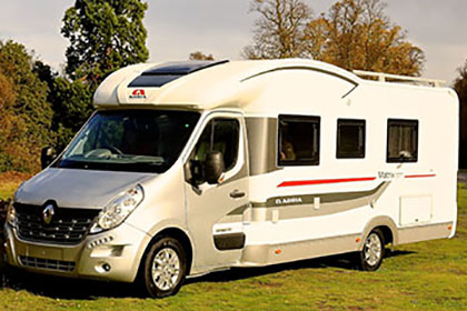 Simple The Motorhome Awards 2015 Fixed Single Bed Motorhome Of The Year
