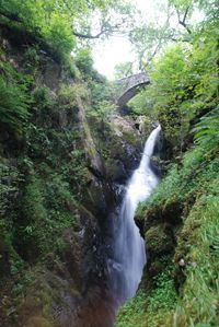 Aira Force is one of the spectacular waterfalls of the Lake District