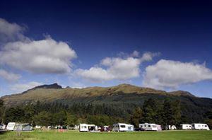 Ardgartan Campsite, Scotland
