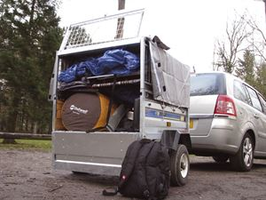 A trailer can be an excellent way to fit in all your camping gear