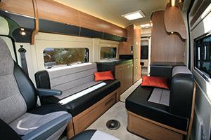 The Motorhome Awards 2014 High Top Van Conversion