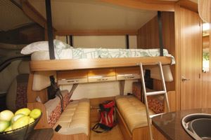 Bailey Builds Britain S First Drop Down Bed Motorhome