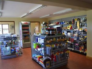 Well stocked shop offers all you could need