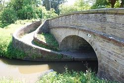 Bollington canal bridge Cheshire