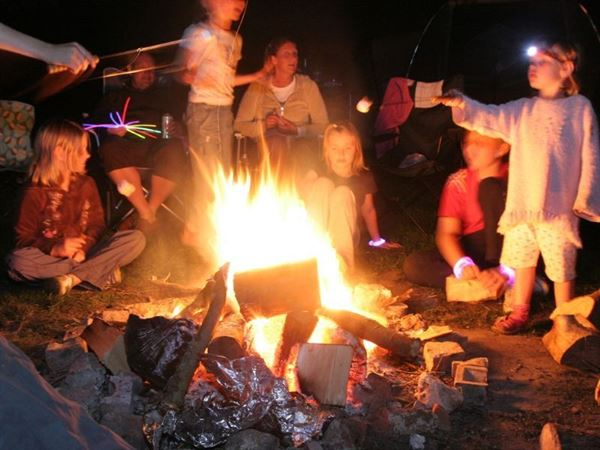 The Orchard welcomes campfires and family fun