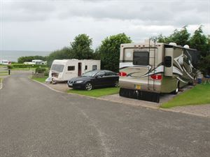 Even the largest of motorhomes will have no access issues here