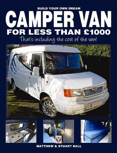New Self Build Campervan Book Launched Motorhome News