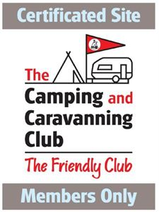 Camping & Caravanning Club Certificated Sites