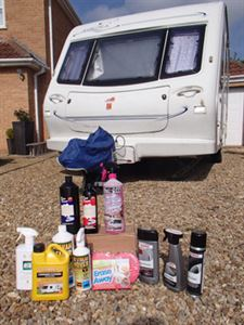 Caravan cleaning guide products
