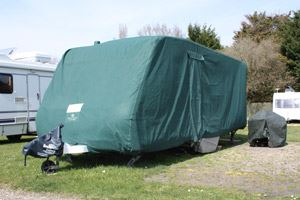 Caravan accessories and caravan covers