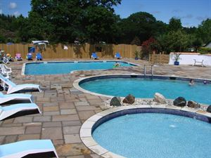On-site pool will keep the children happy