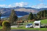 Castlerigg Hall is the campsite with a view