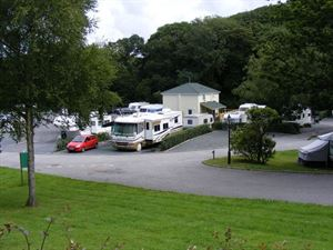 Site can accommodate large RVs