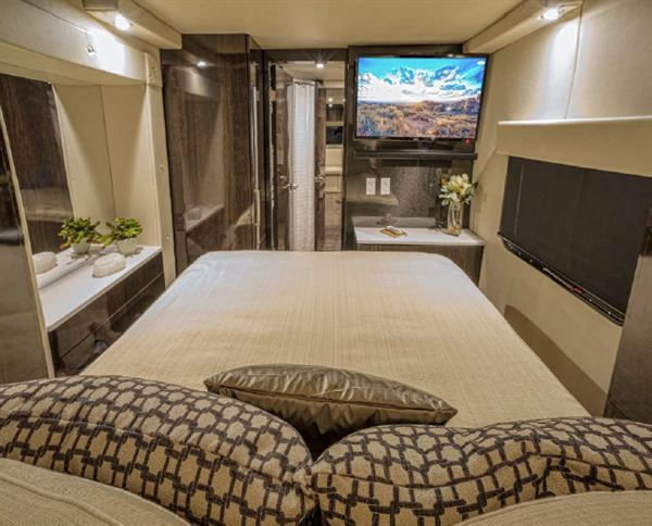 What Does A Luxury Carbon Fibre Caravan Look Like On The