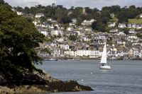 Dartmouth features cobbled streets, cafes and art galleries
