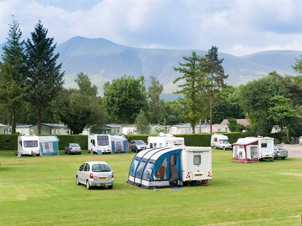 The site is surrounded by the stunning Cumbrian hills