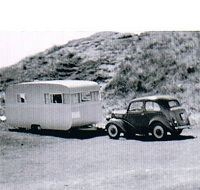 Does this look familiar? The first John Fowler caravan in 1953