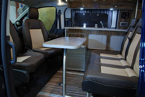 new ford transit based campervan name and specification revealed motorhome news motorhomes. Black Bedroom Furniture Sets. Home Design Ideas