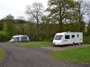 Spacious, hardstanding pitches