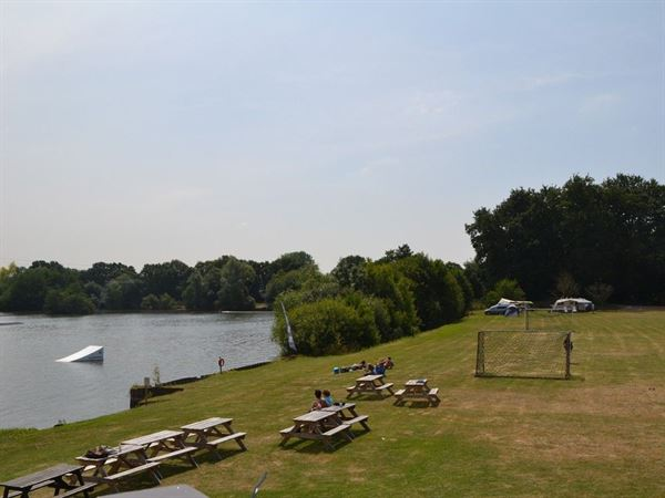 New Forest Water Park and lakeside campsite