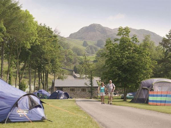 The Eskdale site is situated in glorious countryside and is ideal for walkers