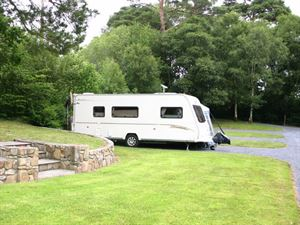 Individual hardstanding pitches can be booked