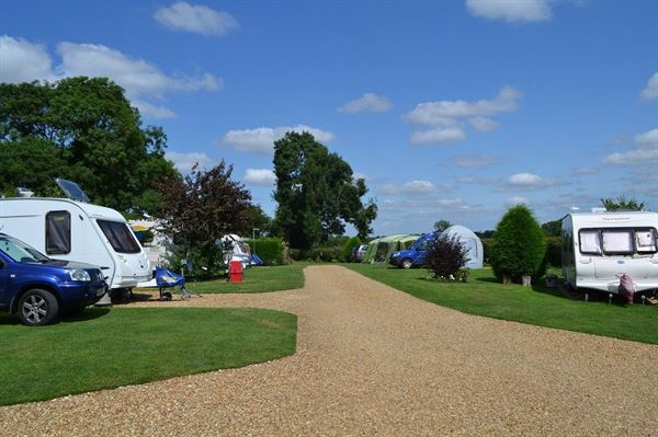 Small caravan park of high quality