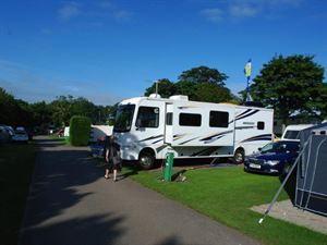 Some pitches are even big enough for RVs!